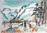Ishbel McWhirter: Nant Ffrancon in Winter