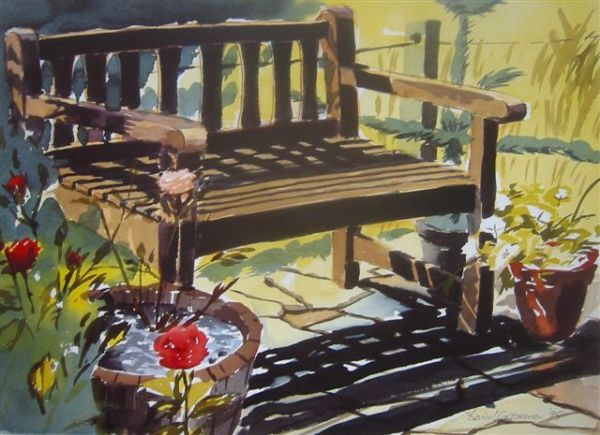 David Grosvenor: Garden Bench
