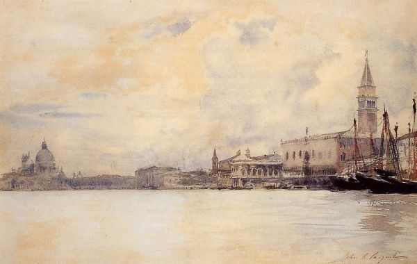Venice: J.S. Sargent  Grand Canal