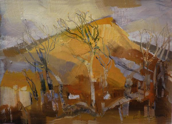 Elizabeth Haines: Yellow Mountain