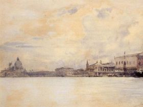 J S Sargent: Venice - Grand Canal